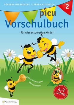 Picu Vorschulbuch 2 von Dürr,  Nicole, König,  Heike