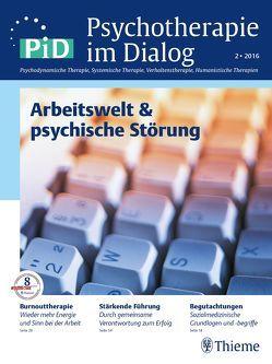 PiD – Arbeitswelt & psychische Störungen von Flückiger,  Christoph, Köllner,  Volker, Wilms,  Bettina