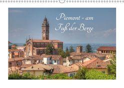 Piemont – am Fuß der Berge (Wandkalender 2019 DIN A3 quer) von photography,  saschahaas
