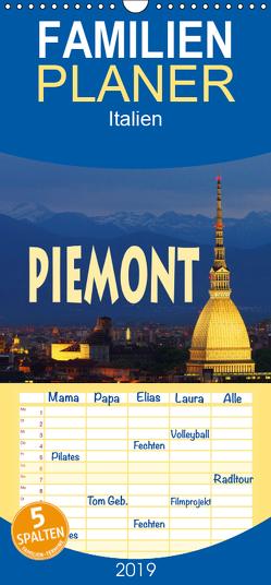 Piemont – Familienplaner hoch (Wandkalender 2019 , 21 cm x 45 cm, hoch) von LianeM