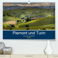 Piemont und Turin (Premium, hochwertiger DIN A2 Wandkalender 2020, Kunstdruck in Hochglanz) von Fahrenbach,  Michael