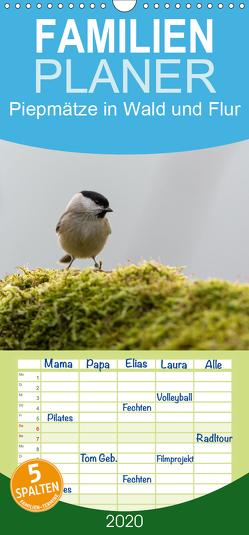 Piepmätze in Wald und Flur – Familienplaner hoch (Wandkalender 2020 , 21 cm x 45 cm, hoch) von Alberer,  Thomas