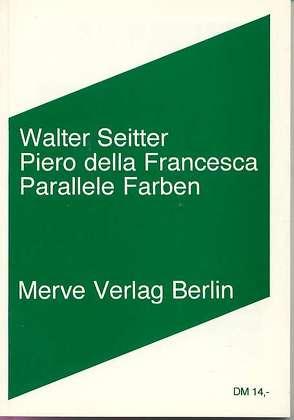 Piero della Francesca von Seitter,  Walter