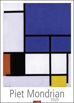 Piet Mondrian Kalender 2020 von Weingarten
