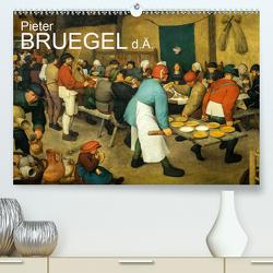 Pieter Bruegel d.Ä. (Premium, hochwertiger DIN A2 Wandkalender 2020, Kunstdruck in Hochglanz) von Bartek,  Alexander