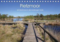Pietzmoor – ein Hochmoor in der Lüneburger Heide (Tischkalender 2019 DIN A5 quer) von Nack,  Heike
