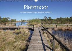 Pietzmoor – ein Hochmoor in der Lüneburger Heide (Wandkalender 2018 DIN A3 quer) von Nack,  Heike