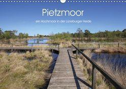 Pietzmoor – ein Hochmoor in der Lüneburger Heide (Wandkalender 2019 DIN A3 quer) von Nack,  Heike