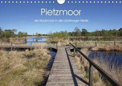 Pietzmoor – ein Hochmoor in der Lüneburger Heide (Wandkalender 2019 DIN A4 quer) von Nack,  Heike