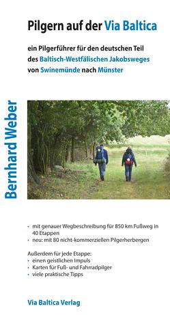 Pilgern auf der Via Baltica von Weber,  Bernhard
