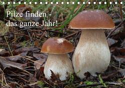 Pilze finden – das ganze Jahr! (Tischkalender 2020 DIN A5 quer) von Bindig,  Rudolf