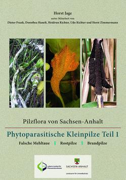 Pilzflora von Sachsen-Anhalt – Phytoparasitische Kleinpilze von Frank,  Dieter, Hanelt,  Dorothea, Jage,  Horst, Richter,  Heidrun, Richter,  Udo, Zimmermann,  Horst