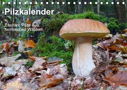Pilzkalender (Tischkalender 2021 DIN A5 quer) von Bindig,  Rudolf