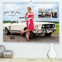 Pin Up Pia & Mustang '67 (Premium, hochwertiger DIN A2 Wandkalender 2020, Kunstdruck in Hochglanz) von imaginer.at