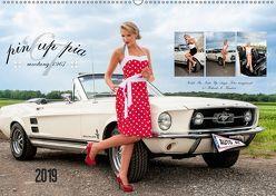 Pin Up Pia & Mustang '67 (Wandkalender 2019 DIN A2 quer)