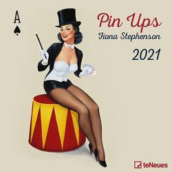 Pin Ups 2021 – Wand-Kalender – Broschüren-Kalender – 30×30 – 30×60 geöffnet von Stephenson,  Fiona