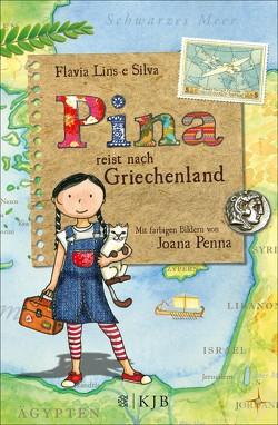 Pina reist nach Griechenland von Penna,  Joana, Silva,  Flávia Lins e, Stein,  Claudia