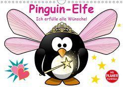 Pinguin-Elfe (Wandkalender 2019 DIN A4 quer) von Stanzer,  Elisabeth