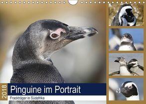 Pinguine im Portrait – Frackträger in Südafrika (Wandkalender 2018 DIN A4 quer) von und Yvonne Herzog,  Michael