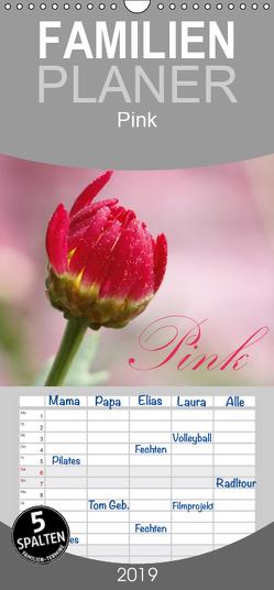 Pink – Familienplaner hoch (Wandkalender 2019 , 21 cm x 45 cm, hoch) von SchnelleWelten