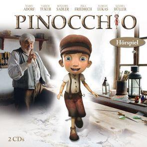 Pinocchio Hörspiel, 2 CDs von Carlo,  Collodi