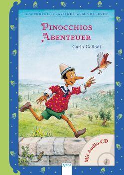 Pinocchios Abenteuer von Bintig,  Ilse, Collodi,  Carlo, Regener,  Oliver