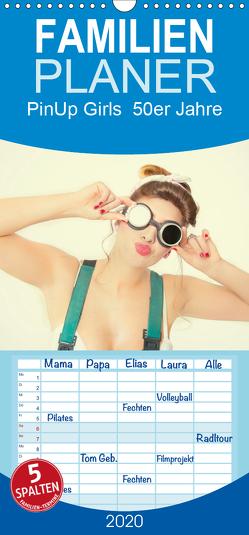 PinUp Girls 50er Jahre / Familienplaner hoch (Wandkalender 2020 , 21 cm x 45 cm, hoch) von Productions,  GrandMa