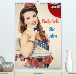 PinUp Girls 50er Jahre (Premium, hochwertiger DIN A2 Wandkalender 2021, Kunstdruck in Hochglanz) von Productions,  GrandMa
