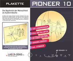 Pioneer 10 – Plakette