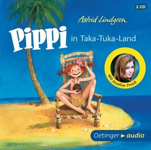 Pippi in Taka-Tuka-Land (2 CD) von Engelking,  Katrin, Gustavus,  Frank, Heinig,  Cäcilie, Lindgren,  Astrid, Preuß,  Josefine