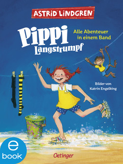Pippi Langstrumpf von Engelking,  Katrin, Heinig,  Cäcilie, Lindgren,  Astrid