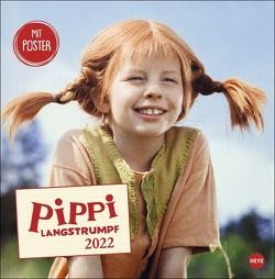 Pippi Langstrumpf Broschurkalender 2022 von Heye