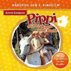 Pippi Langstrumpf – CDs. Original Hörspiel zum neuen Kinofilm / Pippi Langstrumpf – CD / Pippi außer Rand und Band von Bruhn,  Christian, Elfers,  Konrad, Lindgren,  Astrid, Riedel,  Georg