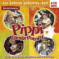 Pippi Langstrumpf – Die große Hörspiel-Box von Harun,  Helmut, Lindgren,  Astrid, Riedel,  Georg