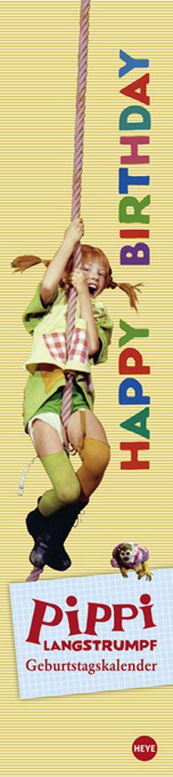 Pippi Langstrumpf Geburtstagskalender long von Heye