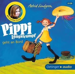Pippi Langstrumpf geht an Bord (2CD) von Engelking,  Katrin, Gustavus,  Frank, Heinig,  Cäcilie, Lindgren,  Astrid, Preuß,  Josefine