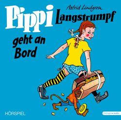 Pippi Langstrumpf geht an Bord – Vinyl Ausgabe (Schallplatte) von Barth,  Monika, Heinig,  Cäcilie, Lindgren,  Astrid, Nowka,  Michael, Scharnweber,  Walter, Schiff,  Peter