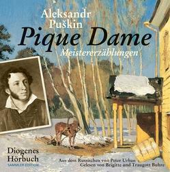 Pique Dame von Buhre,  Brigitte, Buhre,  Traugott, Puskin,  Aleksandr, Urban,  Peter