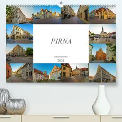 Pirna Impressionen (Premium, hochwertiger DIN A2 Wandkalender 2021, Kunstdruck in Hochglanz) von Meutzner,  Dirk