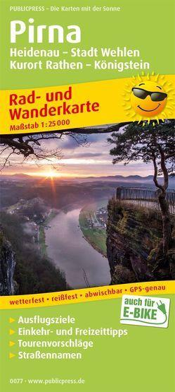 Pirna, Heidenau – Stadt Wehlen – Kurort Rathen – Königstein
