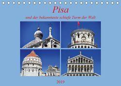 Pisa und der bekannteste schiefe Turm der Welt (Tischkalender 2019 DIN A5 quer) von Thauwald,  Pia