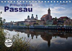 Pittoreskes Passau (Tischkalender 2019 DIN A5 quer) von boeTtchEr,  U