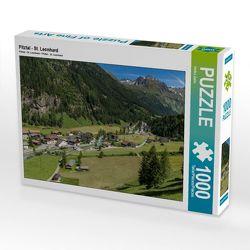 Pitztal – St. Leonhard 1000 Teile Puzzle quer von Zahn, Heiko
