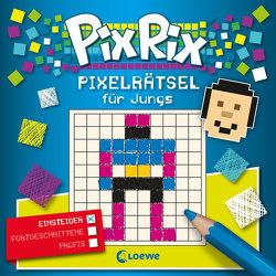 Pix Rix: Pixelrätsel für Jungs von Lorenz,  Claudia