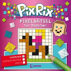 Pix Rix: Pixelrätsel für Mädchen von Lorenz,  Claudia