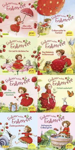 Pixi-8er-Set 269: Erdbeerinchen Erdbeerfee (8×1 Exemplar) von Dahle,  Stefanie