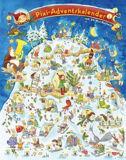 Pixi Adventskalender 2017 von Diverse