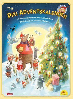 Pixi Adventskalender mit Weihnachtsbaum 2018 von Diverse, Henn,  Astrid, Pöter,  Andrea, Reimers,  Silke, Zöller,  Markus
