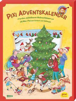 Pixi Adventskalender mit Weihnachtsbaum 2019 von Barbara,  Korthues, Diverse
