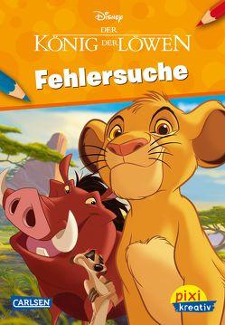 Pixi kreativ 126: VE 5 Disney – König der Löwen (5 Exemplare) – Fehlersuche von Disney